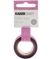 Hot Pink -glitter Tape 5 Meter, , hi-res