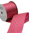 2 And One Qtr Island Mist Dot Ribbon