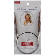 Deborah Norville Fixed Circular Needles 24'' Size 13/9.0mm, , hi-res