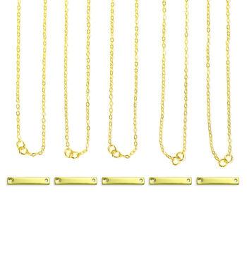 ImpressArt Personal Impressions Small Gold Rectangle