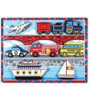 Melissa & Doug Vehicles Chunky Puzzle, , hi-res