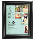Wall Frame 8.5X11-Deep Scoop Black