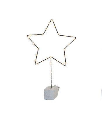 3R Studios Christmas Star Shape Decor with 30 LED Lights