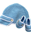 The Crafty Kit Co. Crochet Kit-Baby Boys Hat & Bootees