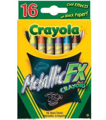 Crayola Metallic FX Crayons-16PK