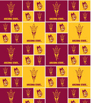 "Arizona State University Sun Devils Cotton Fabric 43""-Block, , hi-res"