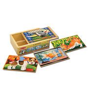 Melissa & Doug Pets Puzzles In A Box, , hi-res