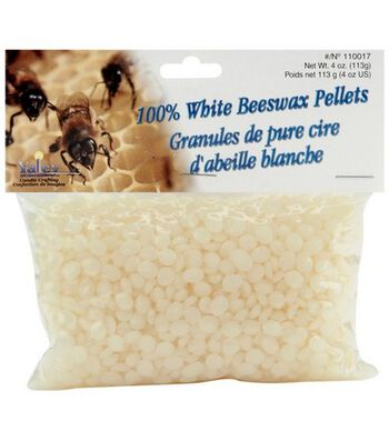 Yaley 100% Beeswax Pellets-4 oz./White