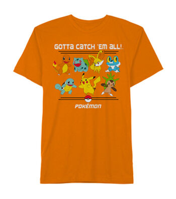 Boys T-shirt-Pokemon & Gotta Catch Em All!