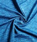 Performance Apparel Fabric-Peacock Space Dye