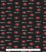 """San Francisco 49ers Cotton Fabric 58""""-Mini Print, , hi-res"""