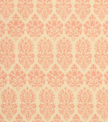 "Keepsake Calico™ Cotton Fabric 43""-Spring Floral Yellow Medallion"