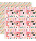 I\u0027d Rather Be Crafting 25 pk Double-Sided Cardstock-Cute Creations