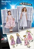 Simplicity Pattern 1173A 3-4-5-6-7--Children
