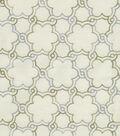 HGTV Home Multi-Purpose Decor Fabric 54\u0022-Boho Lattice Emb/Platinum