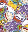 Nickelodeon® Rugrats Fleece Fabric 59\u0022-Rugrats Faces