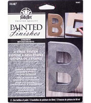 FolkArt Painted Finishes Kit-Concrete, , hi-res