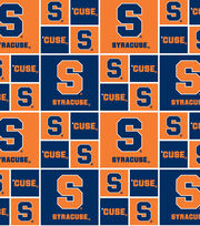 "Syracuse University Orange Cotton Fabric 43""-Block, , hi-res"