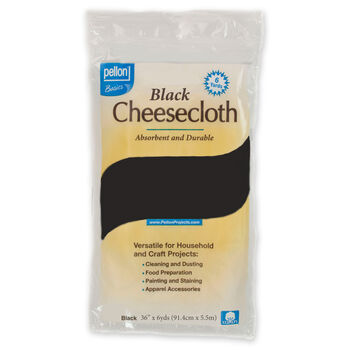 Pellon Cheesecloth Pkg 36x6 Black