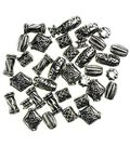 Darice Big Value-Antique Silver Beads 48/PK