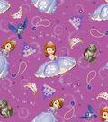 Disney® Princess Cotton Fabric 43\u0022-Sofia and Friends