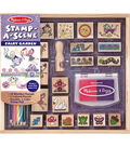 Fairy Grdn-stamp-a-scene Set