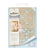 Spellbinders® Shapeabilities® Etched Die-Filigree Booklet, , hi-res