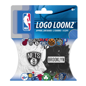 Brooklyn Nets Logo Loomz Filler Pack by Forever Collectibles
