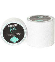 "Heidi Swapp Marquee Love Washi Tape 2""-White Glitter, 8', , hi-res"