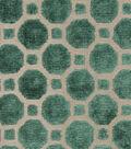 Robert Allen @ Home Upholstery Fabric 54\u0022-Velvet Geo Emerald