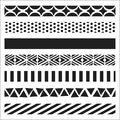 Crafter\u0027s Workshop Template Pattern Strips 6\u0022 x 6\u0022