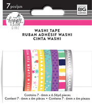 The Happy Planner Girl™ Trendsetter Collection Washi Tape, , hi-res