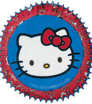 Wilton® Standard Baking Cups-50PK/Hello Kitty®, , hi-res