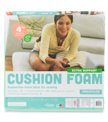 Fairfield Extra Support Cushion Foam 22''x22''x4''