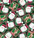 Christmas Cotton Fabric 43\u0022-Rudolph & Santa