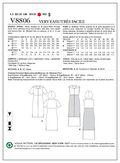 Mccall Pattern V8806 A5 (6-8-10-Vogue Pattern