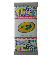 Crayola® Fabric 1yd Cut-Alphabet Print Multi, , hi-res