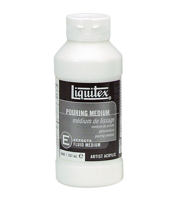 Liquitex Pouring Acrylic Fluid Medium-8oz