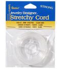 Darice® Jewelry Designer .8mm Stretchy Cord-9YD/Clear