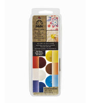 FolkArt® Dry Brush Stencil Creme Set-Old Glory, , hi-res