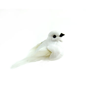 White Feather Dove 6 pack