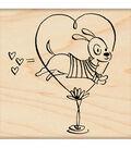 Penny Black Rubber Stamp 2.25\u0022X2.75\u0022-Jump For Love