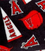 "Los Angeles Angels Fleece Fabric 58""-Tossed, , hi-res"