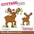 CottageCutz Die Merry Moose-Mas