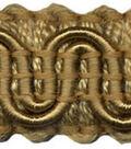 Wav 1/2 Scroll Gimp 12yd Camel
