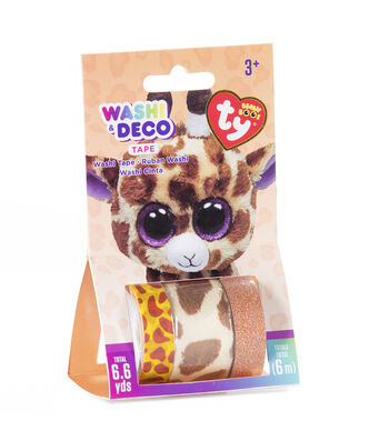 Ty Inc. Beanie Boos® Washi & Deco Tape-Safari™ Giraffe