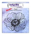 IndigoBlu Cling Mounted Stamp-Poppy-Dinkie