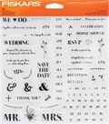 Fiskars® Clear Stamps-DIY Wedding
