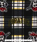 Pittsburgh Pirates Fleece Fabric 58\u0022-Plaid