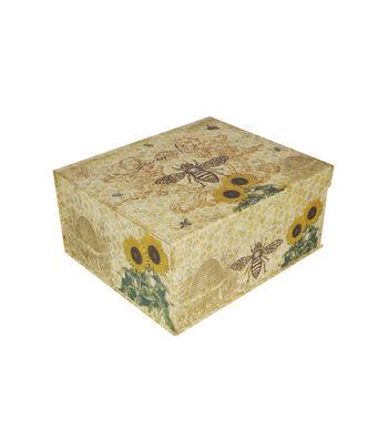 Organizing Essentials™ Large Flip Top Box-Bee Charmer